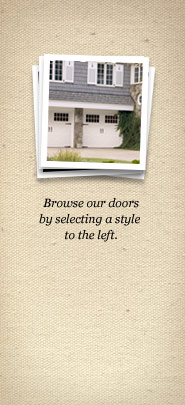 Browse Our Doors By Selecting A Style To The Left